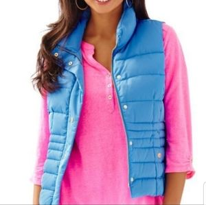Lilly Pulitzer Isabelle puffer vest XS